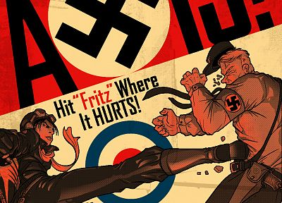 war, propaganda, World War II, axis - random desktop wallpaper