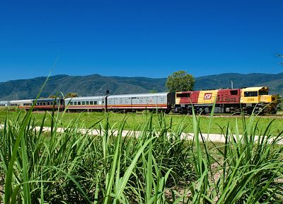 trains, Queensland Rail - random desktop wallpaper