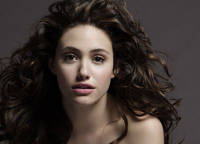 women, actress, Emmy Rossum - random desktop wallpaper