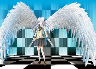 Angel Beats!, Tachibana Kanade - random desktop wallpaper