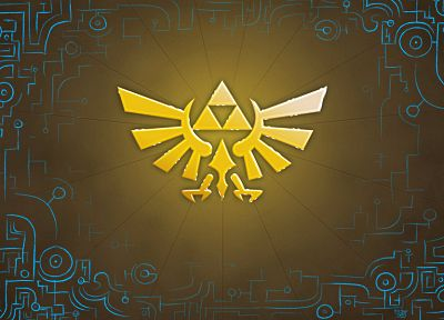 triforce, The Legend of Zelda - duplicate desktop wallpaper