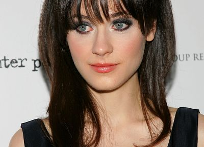 Zooey Deschanel - related desktop wallpaper
