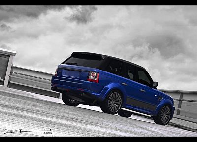 blue, design, Range Rover, Cosworth, A Kahn Design - random desktop wallpaper