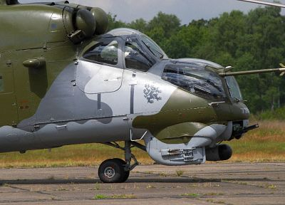 helicopters, Czech, vehicles, Mi-24 - related desktop wallpaper