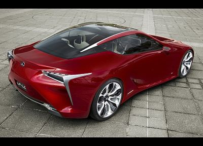 Hybrid, Lexus, concept art, coupe - desktop wallpaper