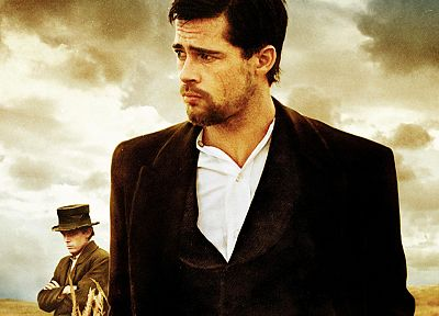 men, Brad Pitt, actors, Casey Affleck, The Assassination of Jesse James by the Coward Robert Ford - related desktop wallpaper