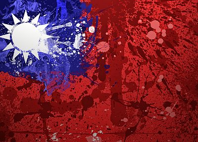 flags, Taiwan, Republic of China - random desktop wallpaper