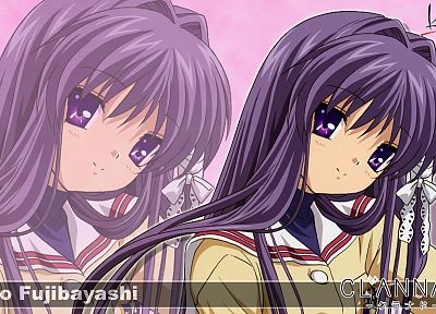 school uniforms, Clannad, Fujibayashi Kyou - random desktop wallpaper