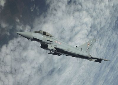 aircraft, Eurofighter Typhoon - random desktop wallpaper