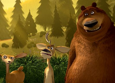 Open Season (movie), movie stills - desktop wallpaper