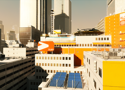 edge, mirrors, Mirrors Edge - related desktop wallpaper