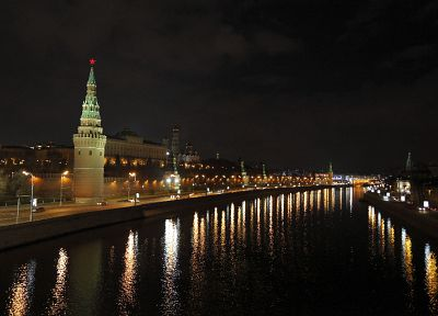 cityscapes, buildings, Moscow, rivers - desktop wallpaper