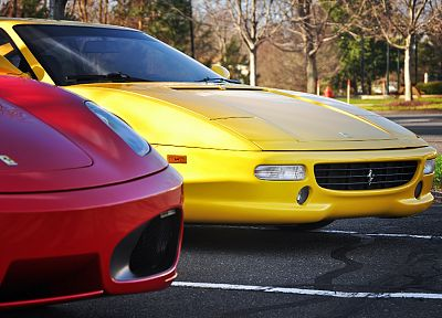 cars, Ferrari, vehicles, supercars, Ferrari F430 - random desktop wallpaper