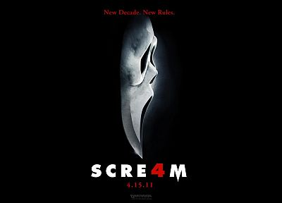 movies, screaming, movie posters, Scream (movie) - random desktop wallpaper