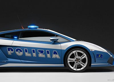 cars, police, Lamborghini, Italian, vehicles, 2009 - related desktop wallpaper