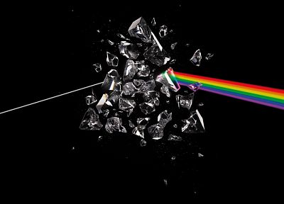 Pink Floyd, prism, rainbows - desktop wallpaper