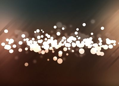 abstract, minimalistic, white, balls, bokeh - related desktop wallpaper