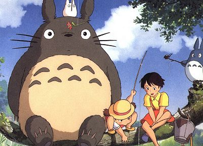 Hayao Miyazaki, My Neighbour Totoro, Studio Ghibli, anime - related desktop wallpaper