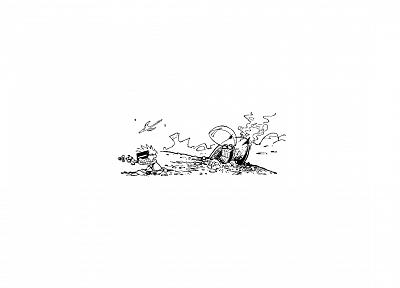 Calvin and Hobbes - desktop wallpaper