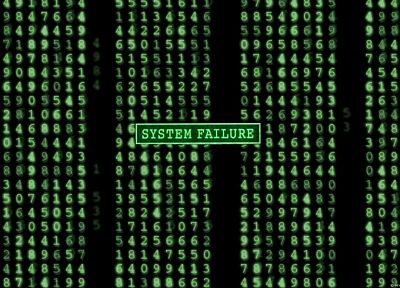 movies, Matrix, code, system failure - random desktop wallpaper