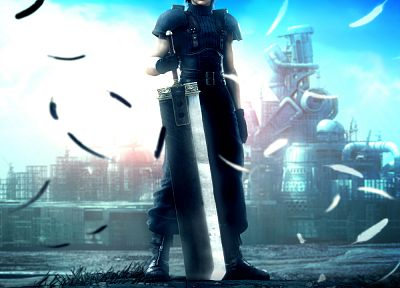 Final Fantasy VII, video games, Crisis Core - related desktop wallpaper