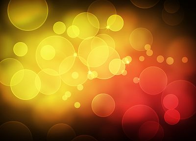 abstract, bokeh - random desktop wallpaper