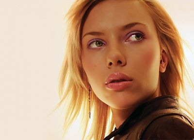women, Scarlett Johansson, actress, faces - related desktop wallpaper