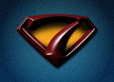 Windows 7, Superman, Superman Logo - random desktop wallpaper