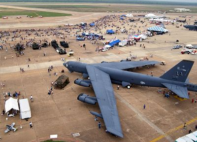 aircraft, military, bomber, B-52 Stratofortress - related desktop wallpaper