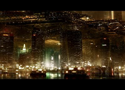 cityscapes, futuristic, buildings, Deus Ex: Human Revolution - related desktop wallpaper