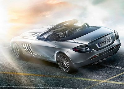 cars, Mercedes-Benz, Mercedes SLR, German cars - random desktop wallpaper