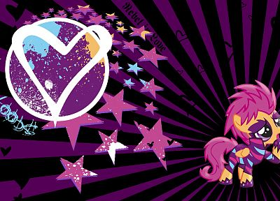 My Little Pony, Scootaloo - related desktop wallpaper