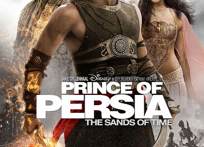 Prince of Persia, Gemma Arterton, Jake Gyllenhaal, movie posters, Ben Kingsley - random desktop wallpaper