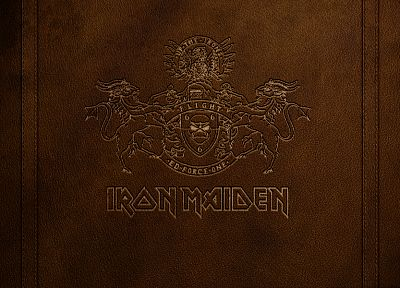 Iron Maiden, Rock music, logos - random desktop wallpaper