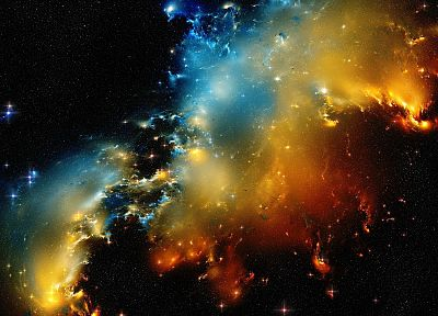 nature, outer space, stars, galaxies, nebulae, space - related desktop wallpaper