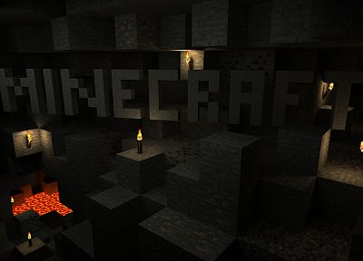 video games, Minecraft - random desktop wallpaper