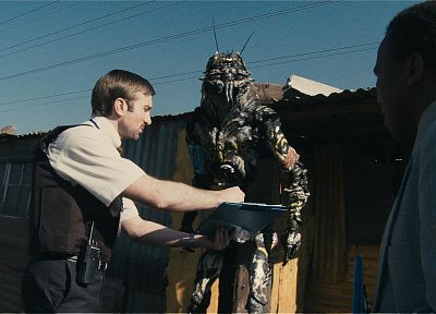 movies, screenshots, District 9, science fiction, alien life forms - random desktop wallpaper