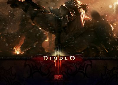 video games, Blizzard Entertainment, Diablo III - random desktop wallpaper