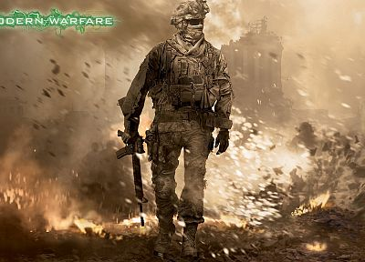 video games, war, soldier, Call of Duty, Call of Duty: Modern Warfare 2 - related desktop wallpaper