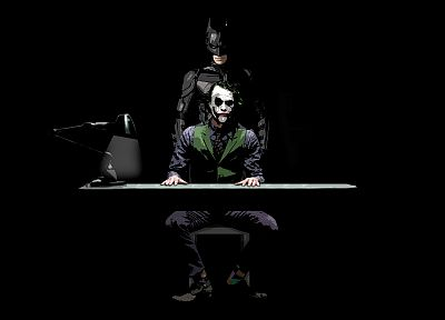 Batman, The Joker, Heath Ledger, The Dark Knight - related desktop wallpaper