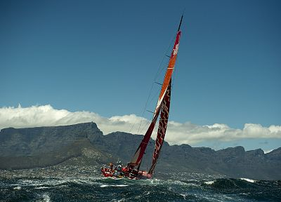 ships, vehicles, sailboats, Volvo Ocean Race - desktop wallpaper