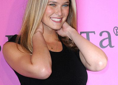 blondes, women, Bar Refaeli, red carpet, black dress - related desktop wallpaper