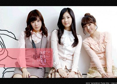 women, Girls Generation SNSD, celebrity, Seohyun, singers, Jessica Jung, Tiffany Hwang - random desktop wallpaper