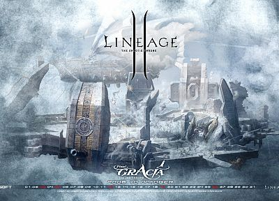 video games, Lineage - random desktop wallpaper