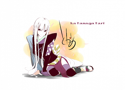 Katanagatari, Togame, anime girls - random desktop wallpaper