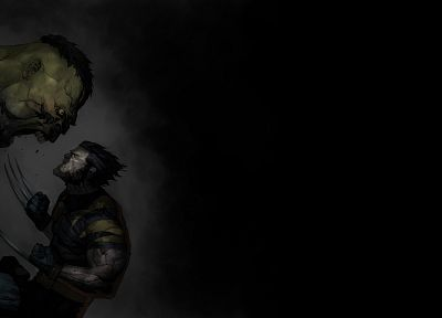 Hulk (comic character), Wolverine, Marvel Comics - related desktop wallpaper