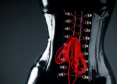 latex, corset - random desktop wallpaper