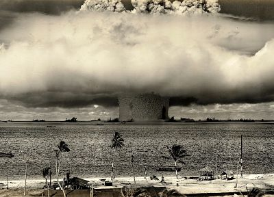 bombs, atomic, explosions, nuclear, mushrooms, nuclear explosions - related desktop wallpaper
