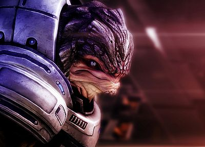 Mass Effect, grunt - random desktop wallpaper