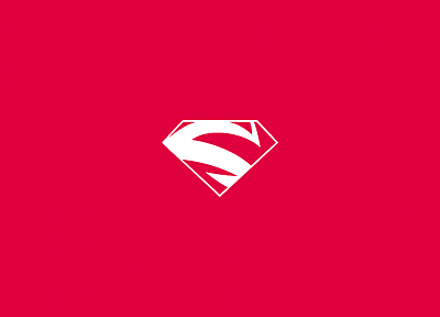 red, DC Comics, Superman, Superman Logo - desktop wallpaper
